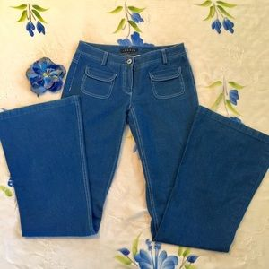 💙💙SALE $9 Theory Wide Bell Jeans